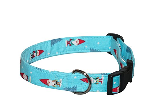 Elmo's Closet Gnomes Dog Collar (Small)
