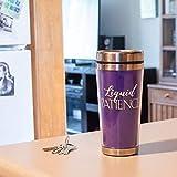 Liquid Patience Purple 16 Ounce Stainless Steel