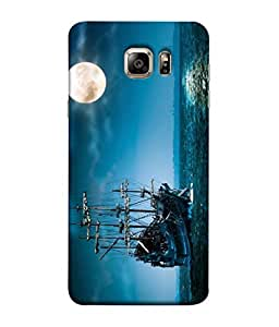ColorKing Matte Finish Mobile Shell Case Cover for Samsung Galaxy S6 Edge Plus, Abstract - Multi Color