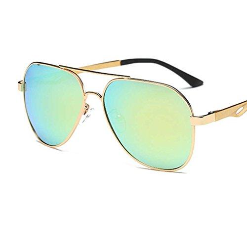 Metal Fashion 2 soleil Lunettes polarisantes Lunettes Frame Pilot lunettes de Mengonee lunettes de classiques Coolsir Hommes cool conduite TxBO54w6qI