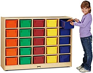 product image for Jonti-Craft 0425JC 25 Cubbie-Tray Mobile Storage Without Trays