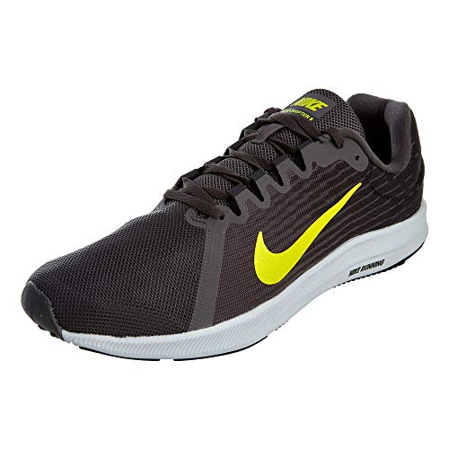 - Nike Men's Downshifter 8 Running Shoe, (12 D(M) US, Thunder Grey/Dynamic Yellow-Oil Grey)