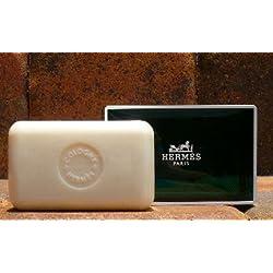 Three (3) Luxury Hermes Jumbo Soaps Eau d'Orange Verte Gift Soap From Hermes Paris 5.2oz / 150g Perfumed Soap / Savon Parfume