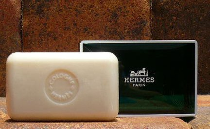 Three (3) Luxury Hermes Jumbo Soaps Eau d'Orange Verte Gi...