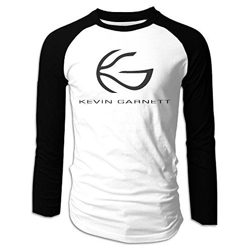 RING Men's Kevin Garnett KG BIG TICKET Da Kid Raglan Sleeve T-shirts Long