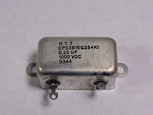 Nyt Cp53b1eg254k1 Capacitor 0 25Mfd 1000V Dc