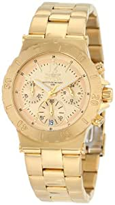 Invicta Women's 1276 II Collection Chronograph 18K Gold Ion-Plated Stainless Steel Watch