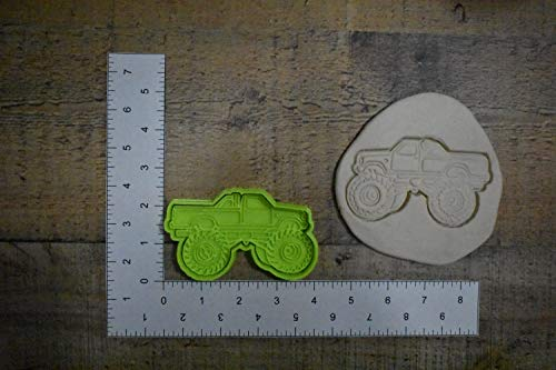 Truck cookie cutter M1265 Monster Truck Lifted truck - Monster Truck Cookies