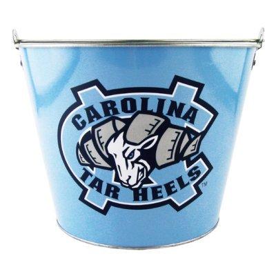 NCAA North Carolina Full Color Tin Beer Pail | North Carolina Tar Heels Ice Bucket