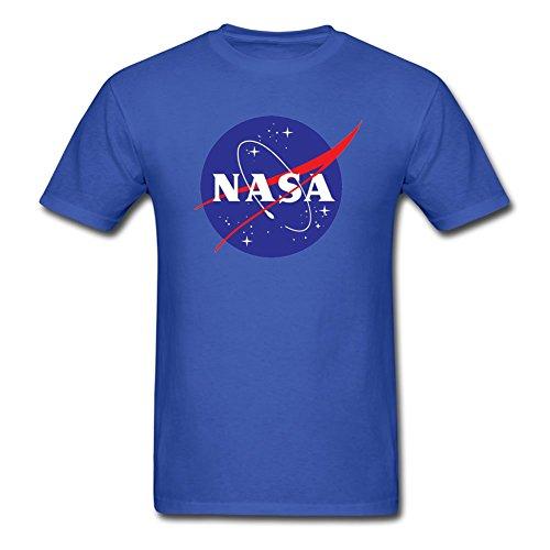 blue0 Camiseta De multicolored Corta Diseño Manga Nasa La Medium qAPqz1