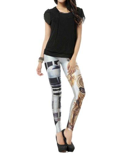 Ladies Galaxy Leggings Stretch Tights
