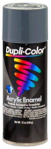Dupli-Color DA1612 Machinery Gray General Purpose Acrylic Enamel - 12 oz. - Gray Acrylic Lacquer
