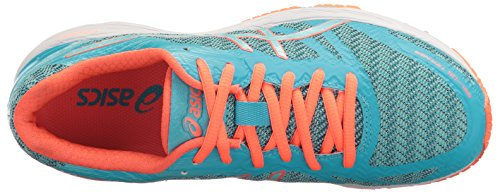ASICS Damen Gel-DS Trainer 22 Laufschuh Aquarium / Aqua Splash / Blitzkoralle