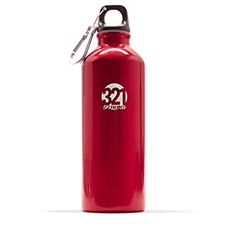Red Fitness Water Bottle