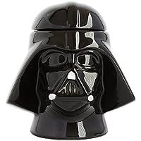 "Joytoy ""Star-Wars-Darth Vador Coquetier avec salière, en CÉRAMIQUE, Noir, 8x 12x 16cm"