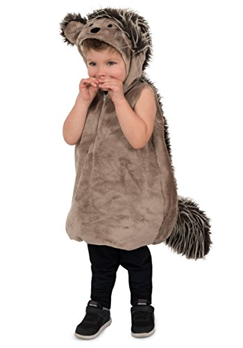 Princess Paradise Boys' Needles the Porcupine, Brown, (Baby Hedgehog Costume)