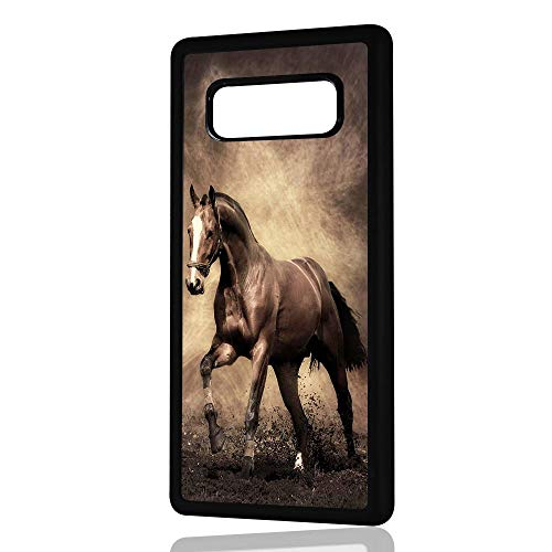 (for Samsung Galaxy S10+ / S10 Plus) Durable Protective Soft Back Case Phone Cover - HOT3456 Horse ()