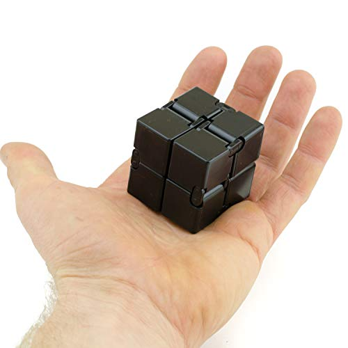 Teens /& Kids Travel /& Classroom Magic Mini Gadget Ideal for Office Calming Toy to Relieve Stress Anxiety /& Kill Time Creativeline Harmony Cube Therapy for All Fingers /& Hands Adults
