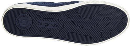 Bugatti K48686j, Zapatillas para Hombre Azul (Jeans 455)