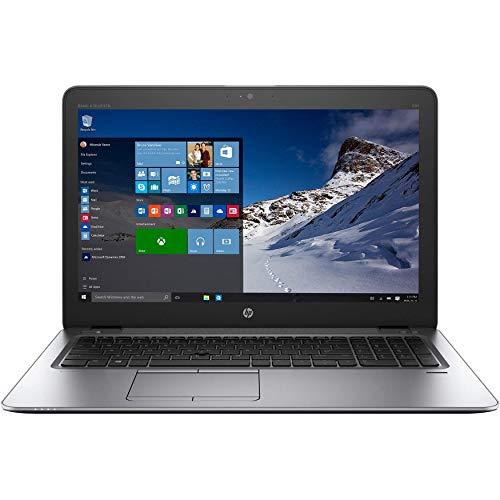 HP ELITEBOOK 850 G3 LAPTOP INTEL CORE I5-6300U 6th GEN 2.40GHZ WEBCAM 16GB RAM 256GB SSD WINDOWS 10 PRO 64BIT (Renewed)