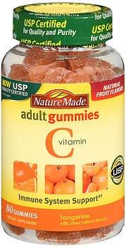 Nature Made Vitamin C Adult Gummies Tangerine