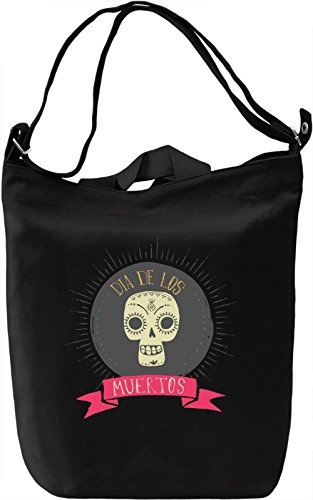 Day of the dead Borsa Giornaliera Canvas Canvas Day Bag| 100% Premium Cotton Canvas| DTG Printing|