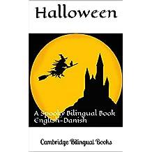 Halloween: A Spooky Bilingual Book English-Danish (Danish Edition)