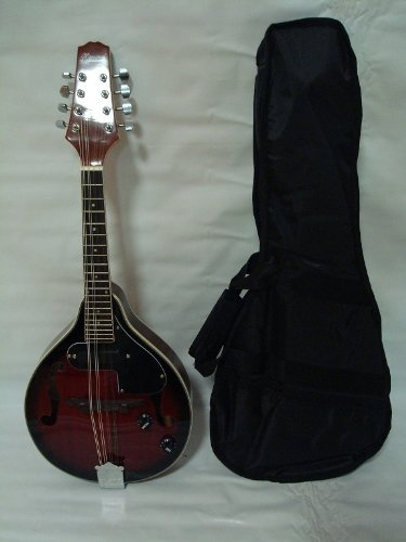 Ktone A-style Acoustic Electric Mandolin, Free Gig Bag, Redburst, Brand New by Ktone