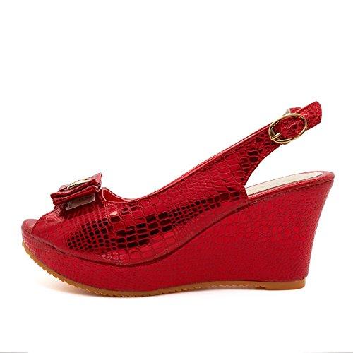 London Footwear - Zapatos con tacón mujer Red
