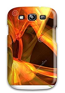 Anti-scratch And Shatterproof Abstract Of Plan 3d Password Phone Case For Galaxy S3/ High Quality Tpu Case