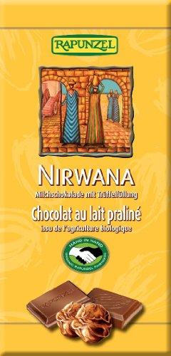 Rapunzel Nirwana Schokolade mit Trüffelfüllung, 6er Pack (6 x 100g) - Bio