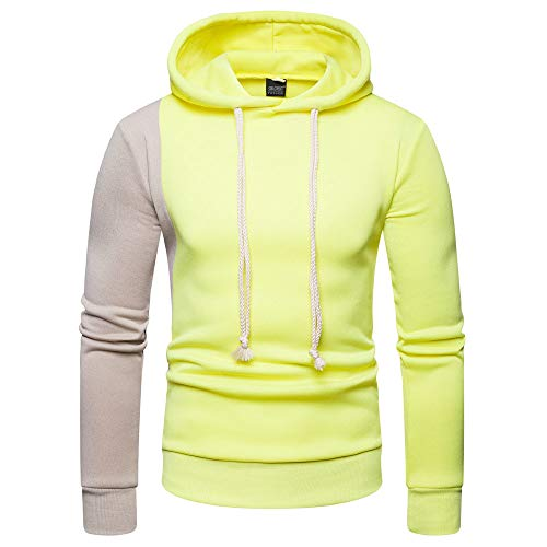 Duseedik Pocket Long Sleeve Hooded Sweatshirt Tops Blouse ()
