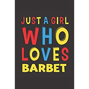 Just A Girl Who Loves Barbet: A Nice Gift Idea For Barbet Lovers Girl Women Lined Journal Notebook 6x9 120 Pages 2