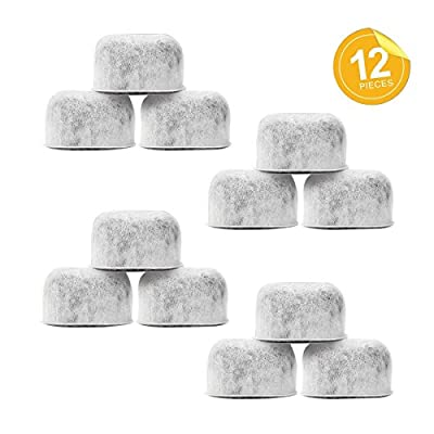 Pack of 12 Replacement Charcoal Water Filters By Housewares Solutions For Keurig 2.0 Brewers