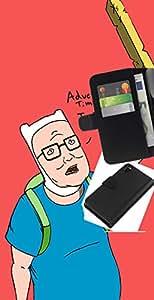 // PHONE CASE GIFT // Moda Estuche Funda de Cuero Billetera Tarjeta de crédito dinero bolsa Cubierta de proteccion Caso Sony Xperia Z3 D6603 / Adeventure King Hill /