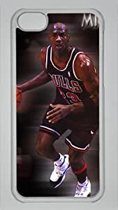 free michael jordan Custom PC Transparent Case For Iphone 6 Plus (5.5 Inch) Cover