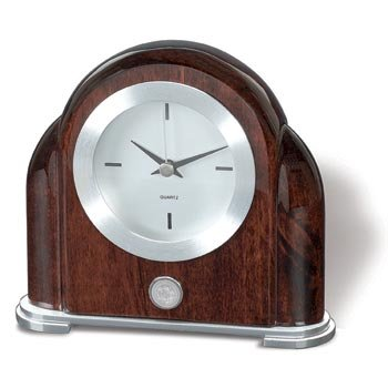 Texas Christian TCU Horned Frogs Art Deco Shelf Clock by Alumni Gift