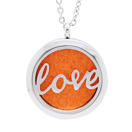 The Soul Vacation 'Love' Essential Oil Diffuser Necklace Aro