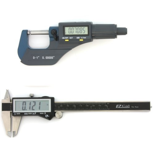 Digital Micrometer Set - iGaging Digital Electronic Micrometer 0-1