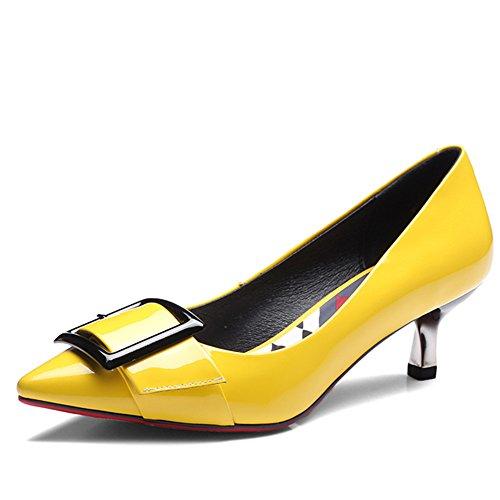 Nine Seven - Cerrado Mujer amarillo