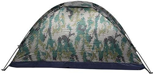 Haokaini Campingzelte mit Zeltpflock Outdoor Einzelperson Freizeit Winddichtes Zelt Set für Camping Angeln Klettern Tarnung