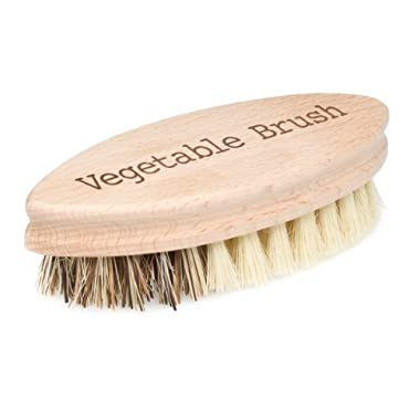 Bürstenhaus Redecker 5-1/4 Inch Hard and Soft Side Vegetable Brush