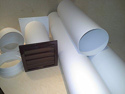 Muro Buzón NW 150 Campana Tubo telescópico con tubo de Juego y arco S2 de R De mkwskqlb150: Amazon.es: Hogar