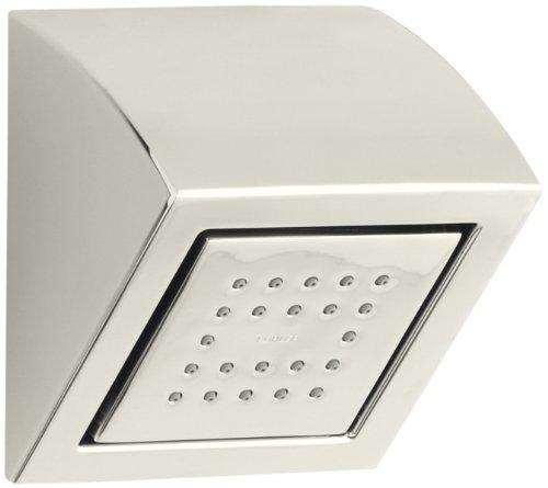 KOHLER K-8023-SN WaterTile 22-Nozzle Showerhead, Vibrant Polished (22 Nozzle Showerhead)