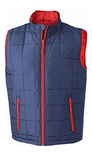 Caldo Uomo Weight Gilet red Thinsulate™ Vest Navy Imbottito Men's Padded Con Light RpZ7Txqn