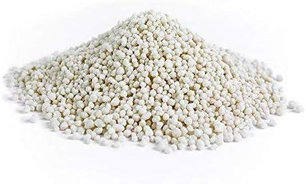Cultivalley nitrato Sulfato amonio de 1 kg N26 Fertilizante de césped Profesional de • nitrógeno Fertilizante con azufre & Efectos a Largo Plazo césped Flores de Frutas & Vegetales