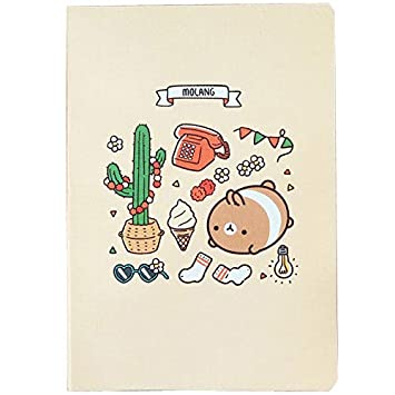 Molang Diary Ver.5 Kawaii Cute Rabbit Undated Planner ...