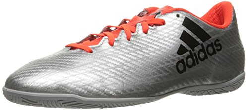 Adidas Performance Men's X 16.4 in Soccer Shoe Silver Metallic/Black/Infrared newest cheap pick a best quality original discount footlocker finishline R0JVMbw
