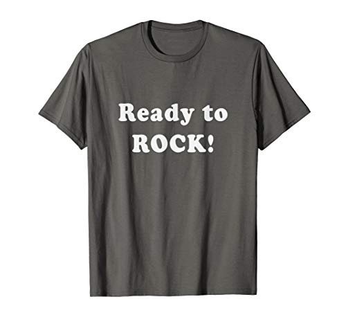 Ready to ROCK Simple Text One Word Quote -