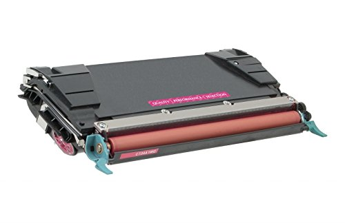 Inksters of America Remanufactured Toner Cartridge Replacement for Lexmark C524 Toner Magenta HY, C5222MS / C5242MH / C5202MS / C5220MS (5k Pages)
